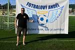 Zakladatel Fotbalového Anděla Jan Holouš.