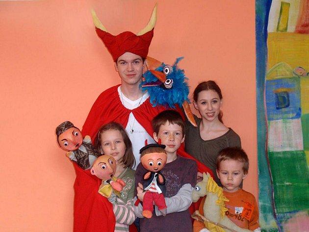 Divadelní soubor Rarášci vyhrál Dětskou scénu 2010.