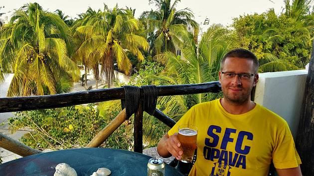 PETR HABARTA je velkým fanouškem Slezského FC, i letošní Vánoce strávil v Mexiku.