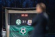 Zápas FORTUNA:LIGY mezi 1. FK Příbram a SFC Opava 5. dubna 2019.