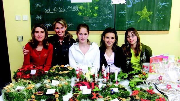 Vánoční akce na Základní a mateřské škole v Melči.