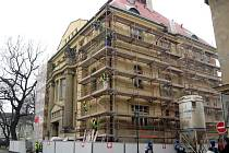 Rekonstrukce Obecního domu v Opavě je v plném proudu.