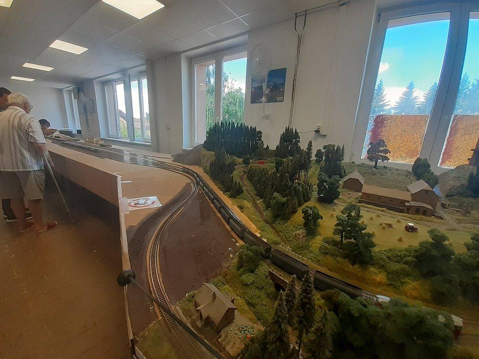 Model kolejiště v Opavě, 10. července 2021, Opava.