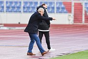 Utkání 24. kola druhé fotbalové ligy (Fortuna národní liga): Baník Ostrava vs. FC MAS Taborsko, 23. dubna v Ostravě. Petržela Vlastimil.