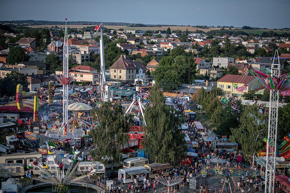 Kravařský odpust, 21. srpna 2021 v Kravařích.