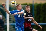 Přípravný zápas SFC Opava - MFK Vítkovice 23. června 2018. Matěj Helebrand - o.