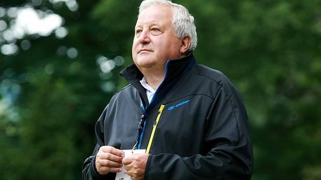 Karel Štěpán, manažer a trenér Hradce nad Moravicí.