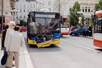 K jedné ze čtyř nehod, které se staly opavské MHD v červnu, došlo na počátku měsíce na křižovatce Pekařská – Horní náměstí. Vinen byl řidič osobního auta, který nedal trolejbusu přednost.