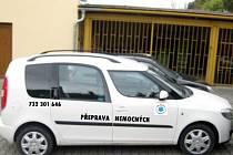 Novodobá sanitka. Přibližně takto bude vypadat vůz, který začne od 1. listopadu letošního roku jezdit Opavou.