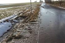 Darkovičky byly i při nedávném tání sněhu před záplavou ochráněny.