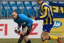 Proti Vítkovicím vytáhl opavský gólman ze svého šatníku modrý dres, a ten mu přinesl štěstí. Opava v derby kralovala a tři body zůstaly v Městských sadech.