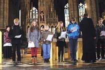Zážitek opavským dětem umocnilo i prostředí katedrály.