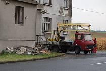 Bývalá celnice v Píšti se má celá proměnit v bytový dům.