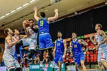 Basketbalového utkání nejvyšší soutěže Nymburk - Opava, 26. října 2019.