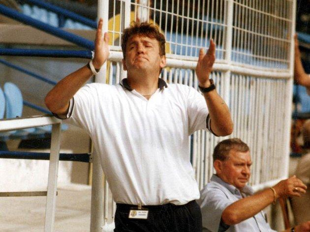 Bývalý fotbalový brankář Vilém Axmann.
