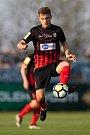 Vlašim - Zápas 23. kola Fortuna národní ligy mezi FC Vlašim a SFC Opava 22. dubna 2018 ve Vlašimi. Tomáš Jursa - o.