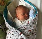 Karel Vaněk se narodil 7. srpna 2016, vážil 3,06 kilogramů a měřil 50 centimetrů. Rodiče Tereza a Karel z Melče svému prvorozenému synovi přejí, aby byl v živote hlavně zdravý.