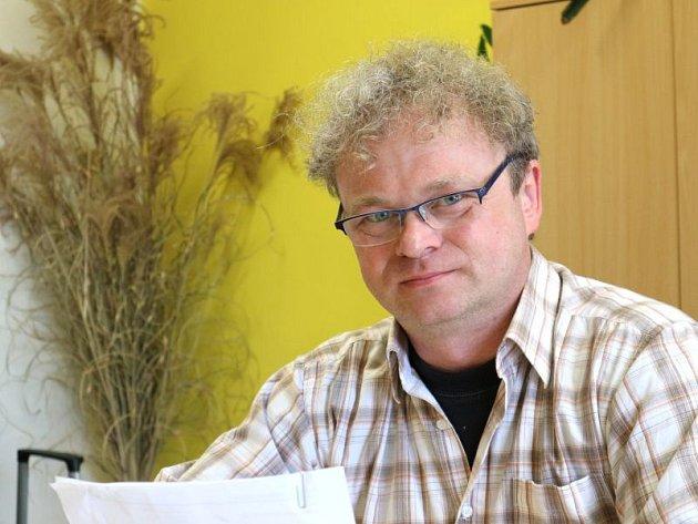 Ředitel Středního odborného učiliště stavebního Miroslav Weisz.