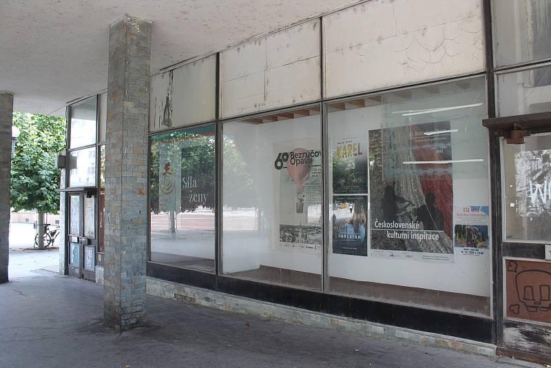 Budova bývalého obchodního domu Slezanka v centru slezské metropole. Opava, 13. září, 2021.