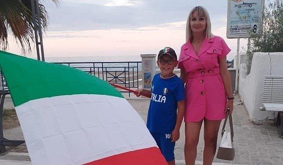 Gabriela se synem Manuelem