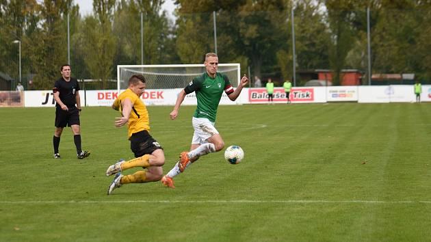 Hlučínští fotbalisté ve 12. kole MSFL doma remizovali 0:0 s Rosicemi.