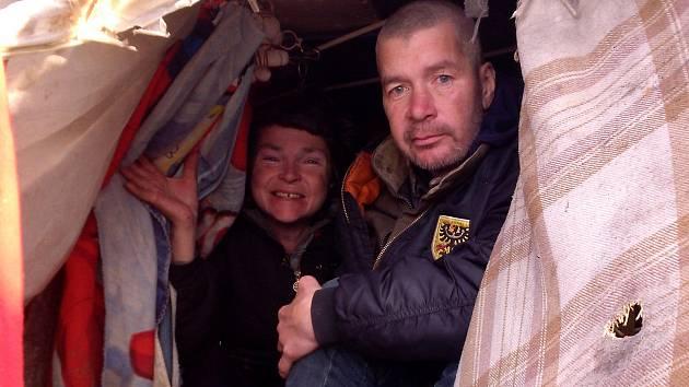Lidé bez domova. Ilustrační foto.