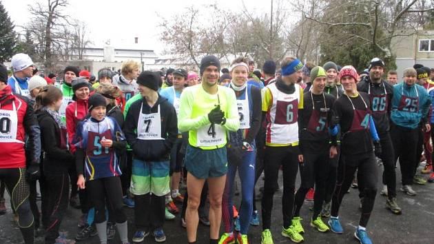 Na start letošní Litultovické vánočky se s číslem čtyři postavil i Jakub Holuša.