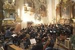 Adventní koncert proběhl v prostorech kostela sv. Vojtěcha.