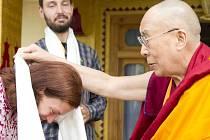 Veroniku Vaníčkovou z Opavy u sebe v Choglamsaru přivítal sám dalajláma.