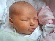 Adriana Klemensová se narodila 20. února, vážila 3,93 kilogramů a měřila 49 centimetrů. Rodiče Jana a Martin z Kravař přejí své prvorozené dceři vše nejlepší, zdraví, štěstí a spokojenost.