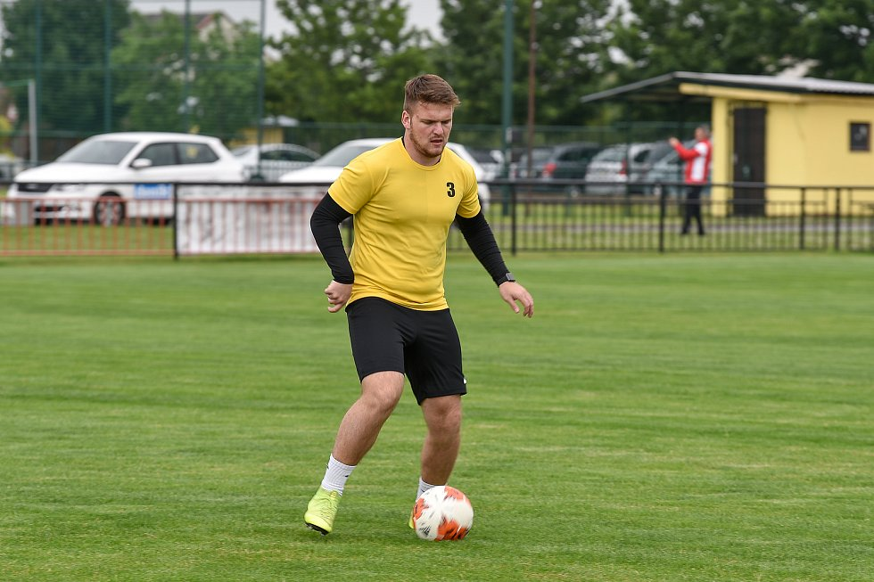 Fotbalový klub SK Viktorie Chlebičov, 9. června 2020 v Chlebičově.