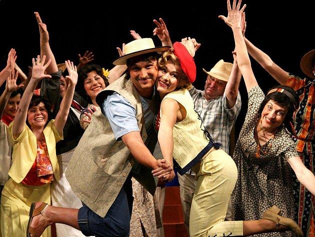 Posledním představením letošní sezony byla opereta Guiditta.