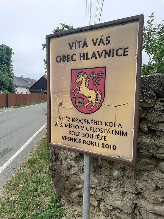 Obec Hlavnice.