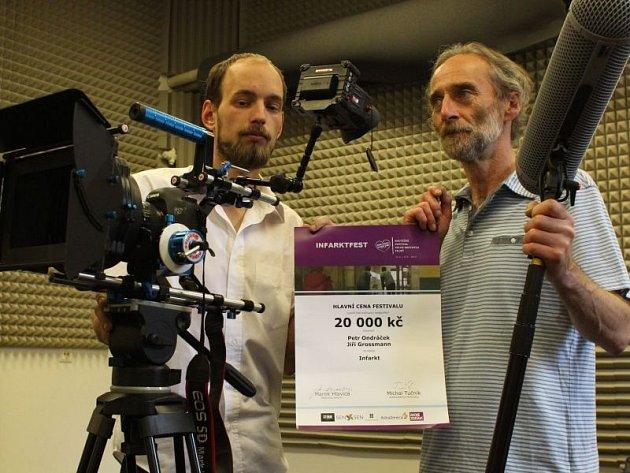 Vítězové letošního Infarktfestu a tvůrci snímku Infarkt.