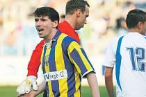 Milan Barteska ještě v opavském dresu.