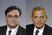 Pavol Kubuš (vlevo) a Miroslav Krajíček