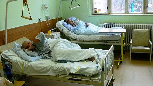 Pacienti opavské interny. Ilustrační foto.