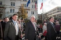 První den v práci 'jak má být' zažili opavští radní v čele s čerstvě zvoleným primátorem Martinem Vítečkem.