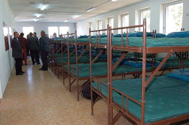 Evakuační centrum města Opavy. Ilustrační foto.