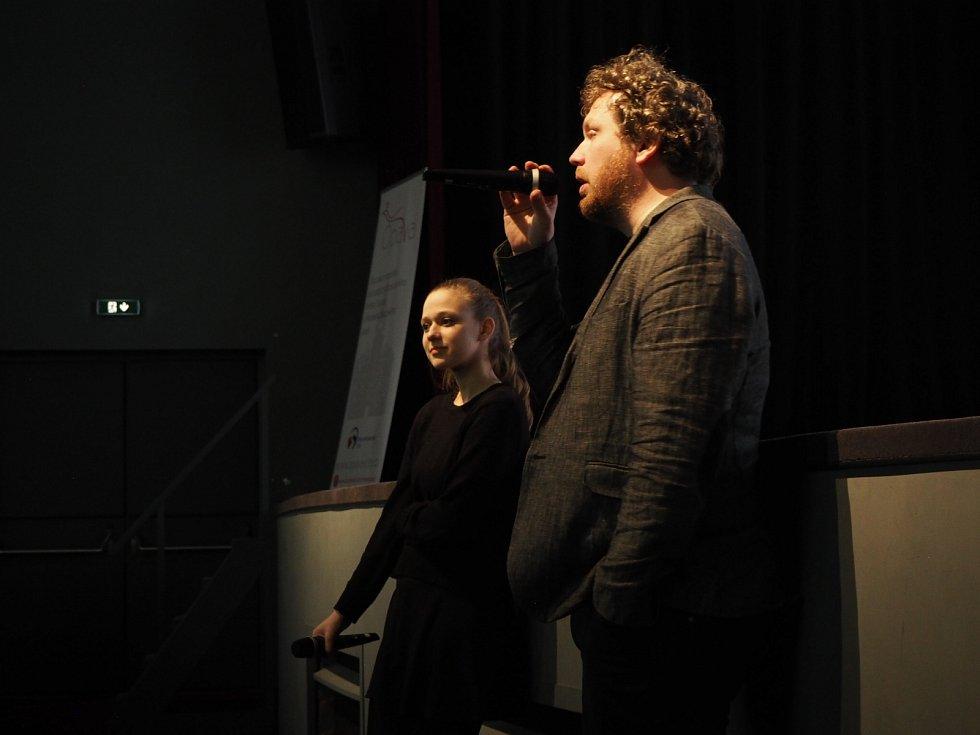 S režisérem snímku V síti Vítem Klusákem.