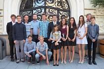 Na radnici byli pozváni i žáci ZŠ Englišova.