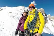 Tomáš Petreček se svou přítelkyní Terezou Krumpholzovou hodlají Štědrý večer prožít v Beskydech anebo Jeseníkách.