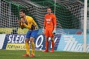 Utkání 27. kola FORTUNA:LIGY 1. FK Příbram - SFC Opava 3:1 (1:0). Foto: Antonín Vydra