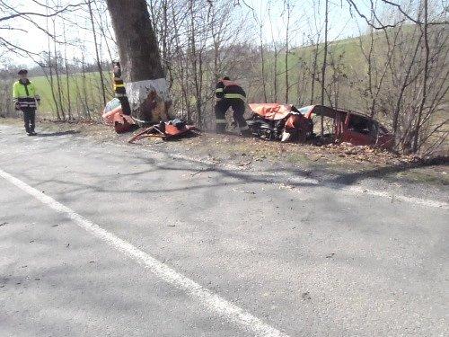 Páteční dopravní nehoda v Mikolajicích.