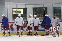 Opavští hokejisté zahájili přípravu na ledě.
