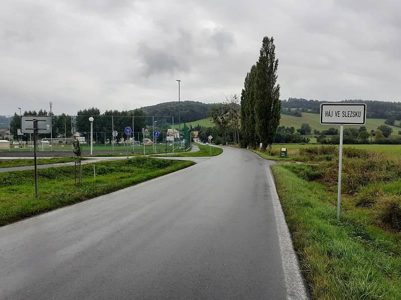 Obec Háj ve Slezsku.