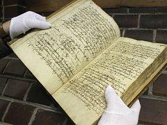 Smolná kniha je jediný dochovaný pramen mapující činnost opavského hrdelního soudu.