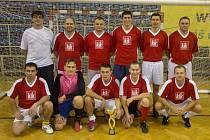 Vítězný tým Policie Hlučín