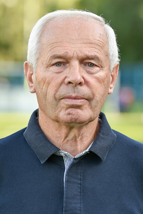 Fotbalový klub TJ Ludgeřovice, 10. září 2020 v Ostravě.předseda klubu Jiří Vjačka.