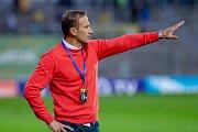Trenér fotbalistů Slezského FC Opava Ivan Kopecký.